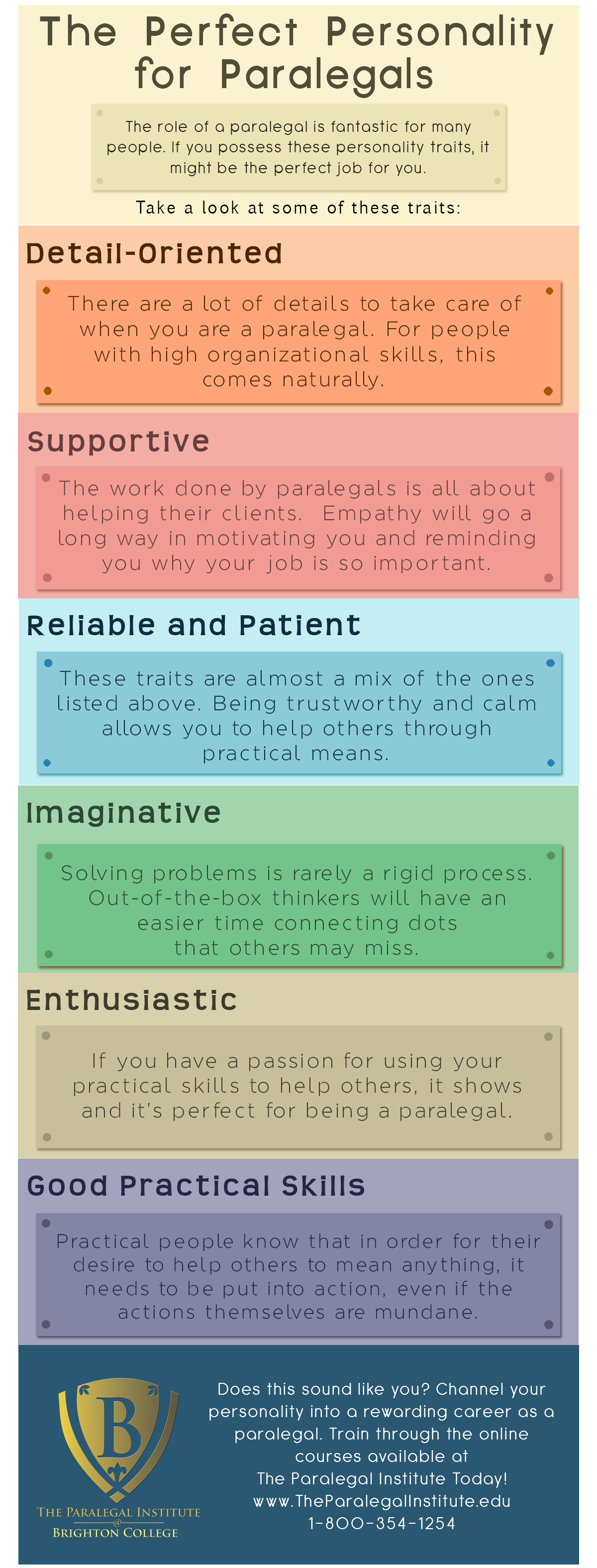 Personality for Paralegals